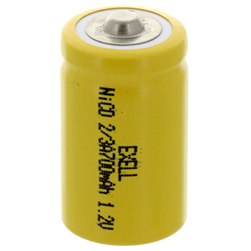 2/3A Size 1.2V 700mAh NiCD Button Top Rechargeable Battery for hybrid automobiles, Telecoms, Smart (Best Kroo Iphone Battery Backups)