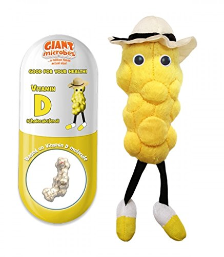 GIANTmicrobes Vitamin D (Cholecalciferol) Plush