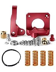 Redrex Upgrades Vervangende aluminium bowden extruder, bowden slang, stiff All Metal Bed Leveling veren voor Ender 3 Ender 5 en CR10 Serie 3D-printer