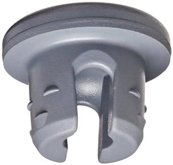 Wheaton 224100-192 Rubber 20mm Stopper with 2-Leg Lyophilization, Gray Chlorobutyl-Isoprene blend/50 (Case of 1000)