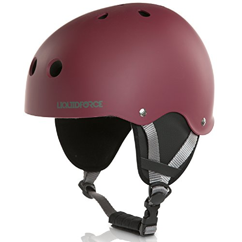 Liquid Force 2018 Flash (OX Blood) Wakeboard Helmet