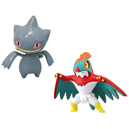 Pok%C3%A9mon Small Figures Hawlucha Banette