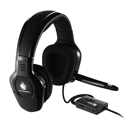 Cooler Master Sirus C Gaming Headset 'Weiße LED-Beleuchtung, Lautstärkeregler mit Stummschalter, 2.2 Channel, 44mm Treibern' SGH-4650-KC3D1