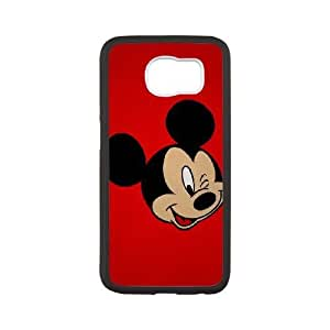 Samsung Galaxy S6 phone case White Disney Mickey Mouse Minnie Mouse LJJK7572061
