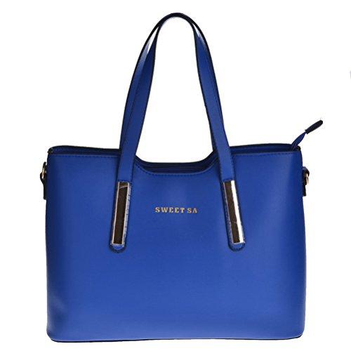 Thboxes - Bolso al hombro para mujer Talla Unica Azul - azul real