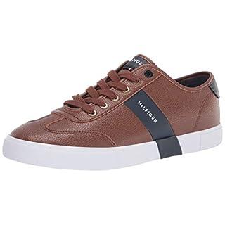 Tommy Hilfiger Men's Pandora Sneaker, Cognac, 11.5