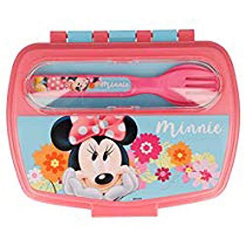 Lancheira Com Talheres Disney Mickey - Lillo, Rosa
