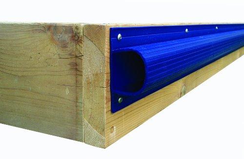 Dock Edge + Inc. Premium PVC Super Saver Dock Bumper Profile, 3-8-Feet Sections (24-Feet, Navy Blue)