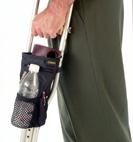 EZ-ACCESS EZ-ACCESSORIES Universal Crutch Pouch with 4 Pockets