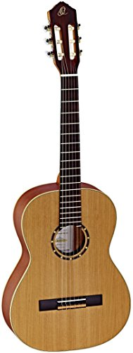 Ortega Guitars Family Series 6 String Classical Guitar, Right (R122-7/8)