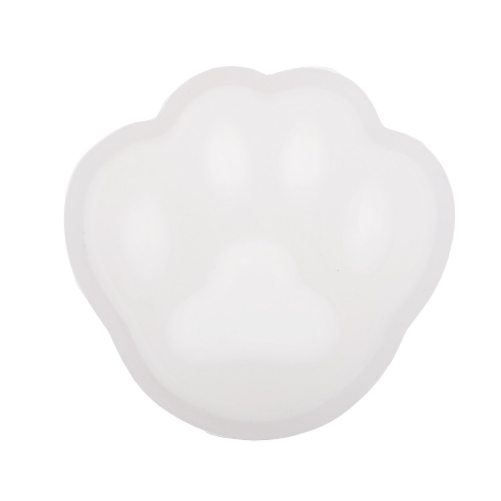 D DOLITY Silicon Mould The Cat's Paw Mold DIY Resin Clay Candles Jewelry Making Craft