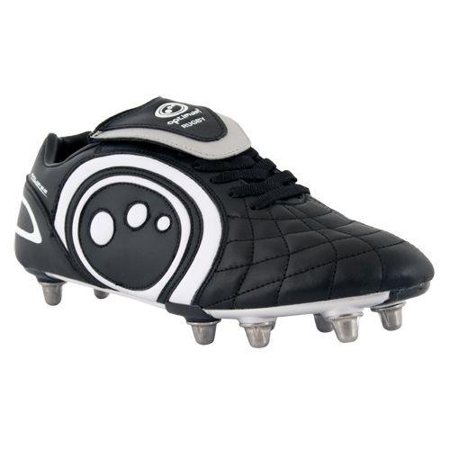 Optimum Eclipse Boot da Rugby Pro [Nero], Black, 10 UK