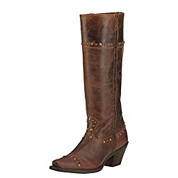 Ariat Womens Marvel New West 8 FM Sassy Brown