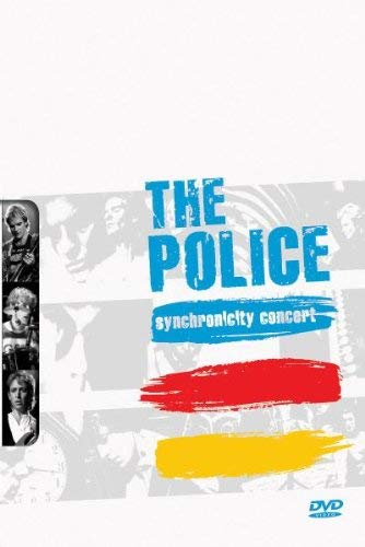 The Police: Synchronicity Concert Tessa Niles Andy Summers Sting Stewart Copeland