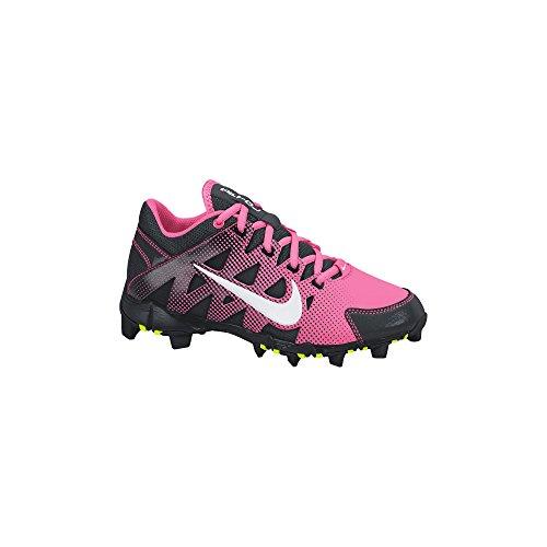 391f9114f Nike Girl s Hyperdiamond Keystone GS Softball Cleat Digital Pink Black White  Size 6 M US
