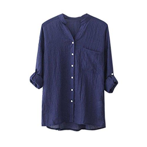 Women Blouse Neartime Cotton Long Sleeve
