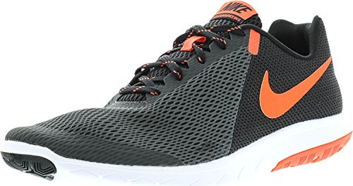 New Nike Men's 9.5 Flex Experience RN 5 Running Shoe - Nike Black Orange Socks