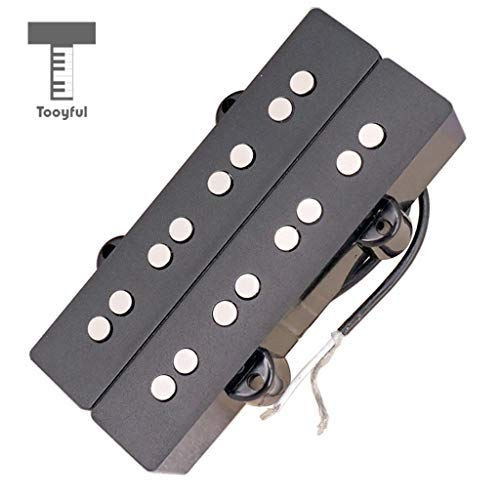 DDV-US - Bass Guitar Humbucker Double Coil 4 String Pickups for Electric Bass Parts Accessory Replacement (Humbucker Rhythm)