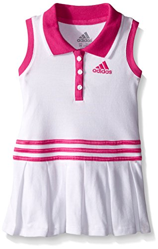 Buy Adidas Baby Girls Polo Dress White 3 Months Clothing For