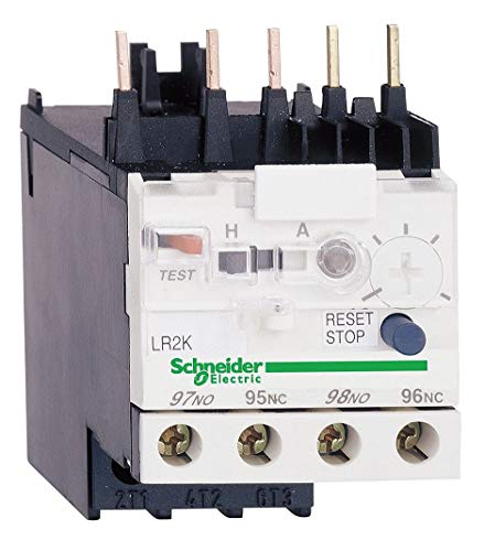Schneider Electric Overload Relay, Trip Class: 10, Current Range: 1.20 to 1.80A, Number of Poles: 3 - LR2K0307 (Electric Overload Relay)