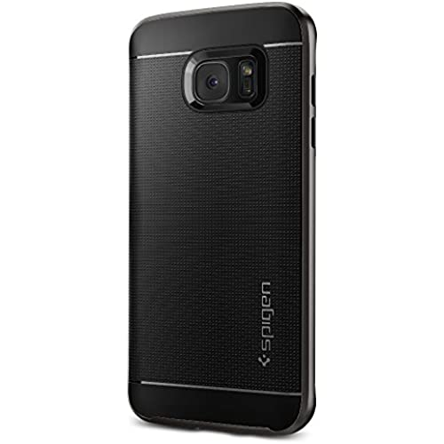 Spigen Neo Hybrid Galaxy S7 Edge Case with Flexible Inner Protection and Reinforced Hard Bumper Frame for Samsung Galaxy S7 Edge 2016 - Gunmetal Sales