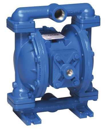 Sandpiper Air-Operated Double Diaphragm Pump - 1in. Inlet, 45 GPM, Aluminum/Buna, Model# S1FB1ABWAN5000