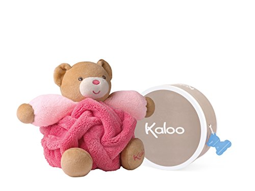 Kaloo Plume Raspberry Small Bear, used for sale  Delivered anywhere in USA