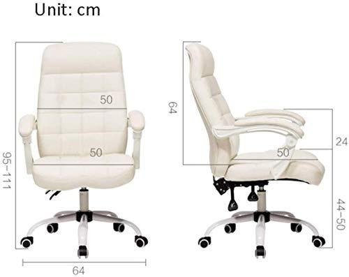 Skrivbordsstolar svängbar stol, mitten av ryggen verkställande stol armstöd svängbar datorstol hem kontor knästol