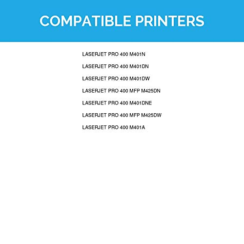 LD Compatible Toner Cartridge Replacement for HP 80X CF280X High Yield (Black)