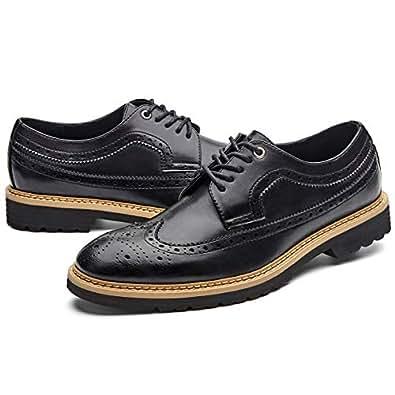 Amazon Com Gm Golaiman Men S Dress Shoes Wingtip Oxfords Formal