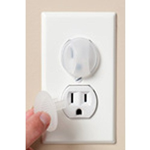 KidCo Electrical Outlet Caps - Clear - 24 ct