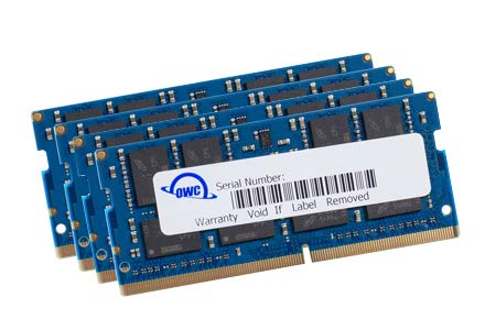 OWC 32GB (4 x 8GB) 2666MHz DDR4 PC4-21300 SO-DIMM 260 Pin Memory Upgrade, (OWC2666DDR4S32S), for 2019 27 inch iMac (iMac19,1) and PC laptops
