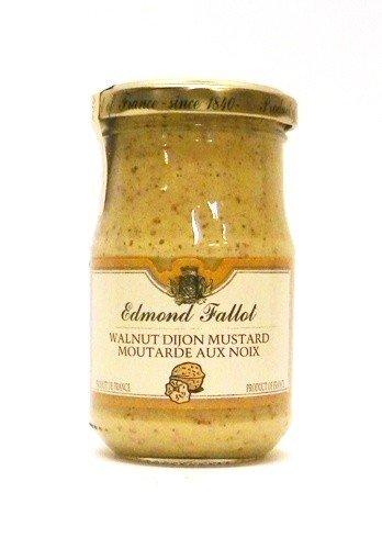 Fallot Walnut Mustard - Dijon Mustard with Nuts 7 oz Jar