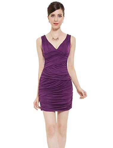 Ever-Pretty - Vestido para mujer Morado