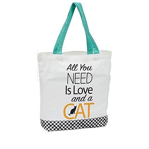 DII Cat Design Tote Bag (Love)