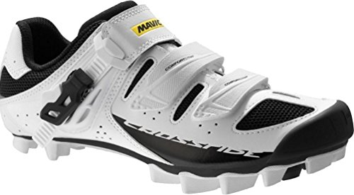 Mavic Crossride SL Elite Cycling Shoes - Women's White/Black/White, US 10.0/UK 8.5 by Mavic