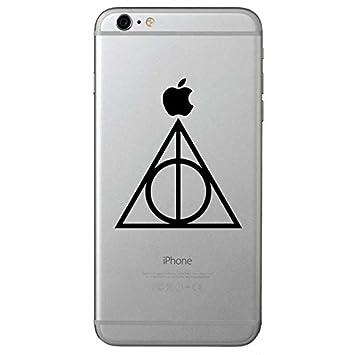 pegatinas con símbolo de Harry Potter y las Reliquias de la Muerte (2 unidades)