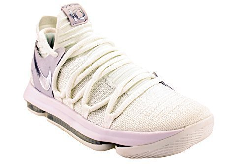 Nike ZOOM KD10 mens basketball-shoes 897815-100_11 - WHIT...
