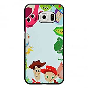 Toy Story 3 movie poster Phone Funda,Samsung Galaxy S6Edge Custom Phone Funda
