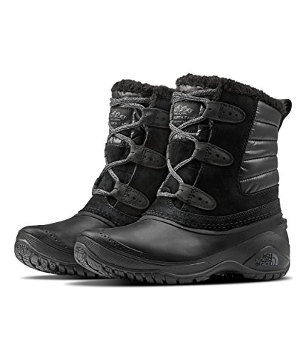 The North Face Women's Shellista II Shorty - TNF Black & Smoked Pearl Grey - 6.5