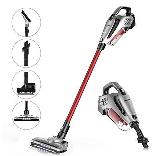 - SPECILITE 2-in-1 Cordless Upright Vacuum Cleaner,2200 mAh Rechargeable Lithium Ion Battery with Lightweight Handheld Vacuum for Hard Floor and Carpet
