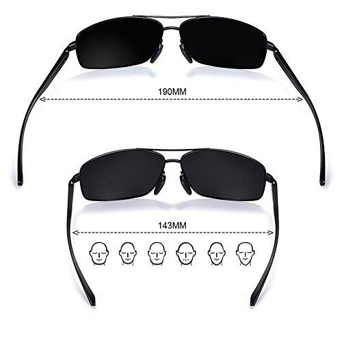UV polarisées de soleil sport de carrées Lunettes de Lunettes pour conduite Lunettes A Vanguard hommes soleil Tourisme x1ZqP