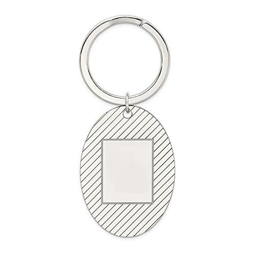 (925 Sterling Silver Key Chain)