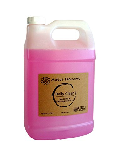 Element Cleaner - Daily Clean 1 gal - Active Elements - Concentrated No Rinse Cleaner - Commercial - Retail - Residential Floors