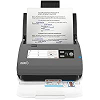 Ambir ImageScan Pro 820ix (DS820ix-NP) High-Speed Duplex Document and ID Scanner with Automatic Document Feeder and 20 Pages Per Minute Scanning (Upgraded with Nuance Power PDF Software)