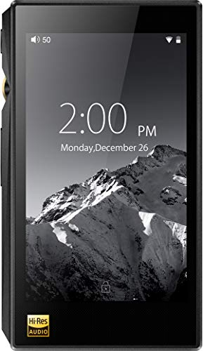 FiiO X5 Mark III Hi-Res Lossless Music Player with Touch Screen Android OS and 32GB Storage (3rd Gen, Black) (Renewed)
