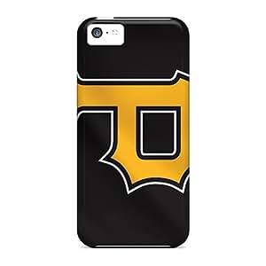 Bumper Hard Phone Case For Iphone 5c (QKn19700Btfe) Unique Design HD Pittsburgh Pirates Pattern