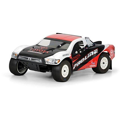 Pro-Line Racing 336400 Toyota Tundra Clear Body for Slash, Slash 4 x 4, SC10, XX-SCT (Slash Body Proline)