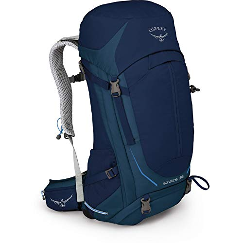 Osprey Packs Stratos 36 Backpack, Eclipse Blue, S/M, Small/Medium