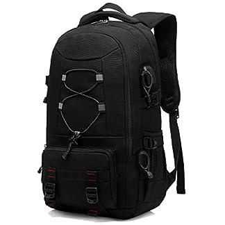 Travel Backpack, 45L Hiking Backpacks Water Resistant Multi-functional Trekking Rucksack Travel Laptop Backpack Mens… 8